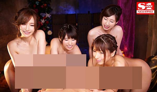 共演番号SSNI-333 四大巨乳女神风俗店玩5P
