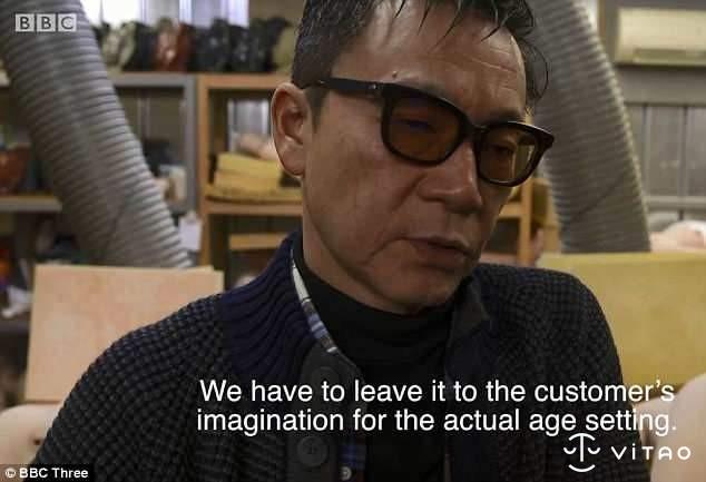 日本性爱娃娃怎么制作 高度仿真女性身材令人落泪