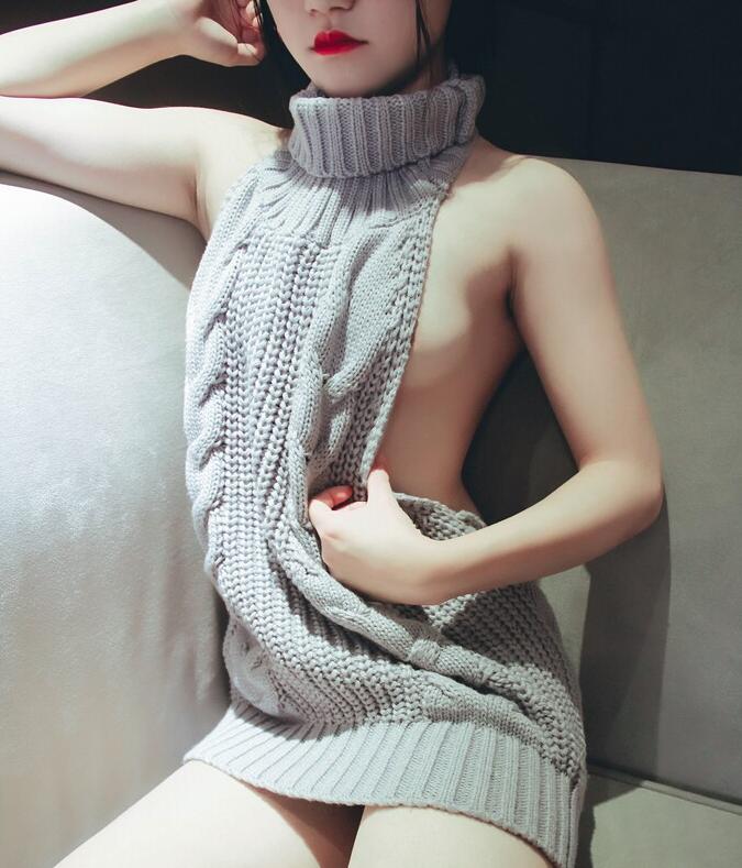 团子少女毛衣少女图集 酥胸半露想伸进去狠狠揉胸