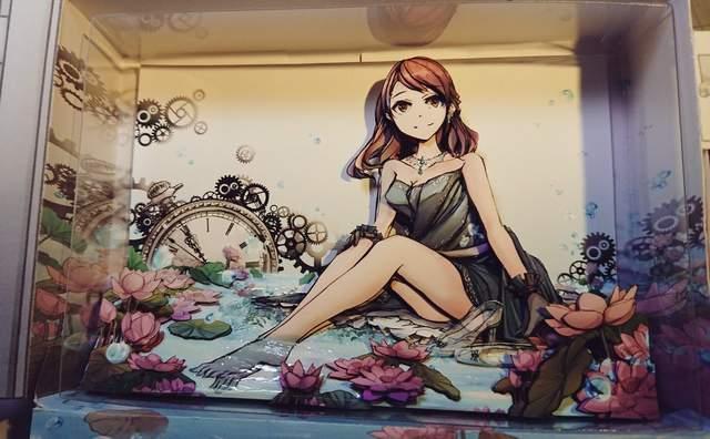 灰姑娘女孩立体纸雕 作品栩栩如生梦幻又可爱