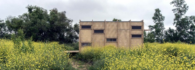边境小屋亲近自然 消除室内与户外的界线完全回归自然