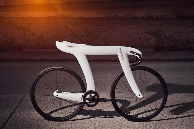 """π 字型脚踏车 圆周率单车Pi Bike融合""""无理""""与""""合理"""""""