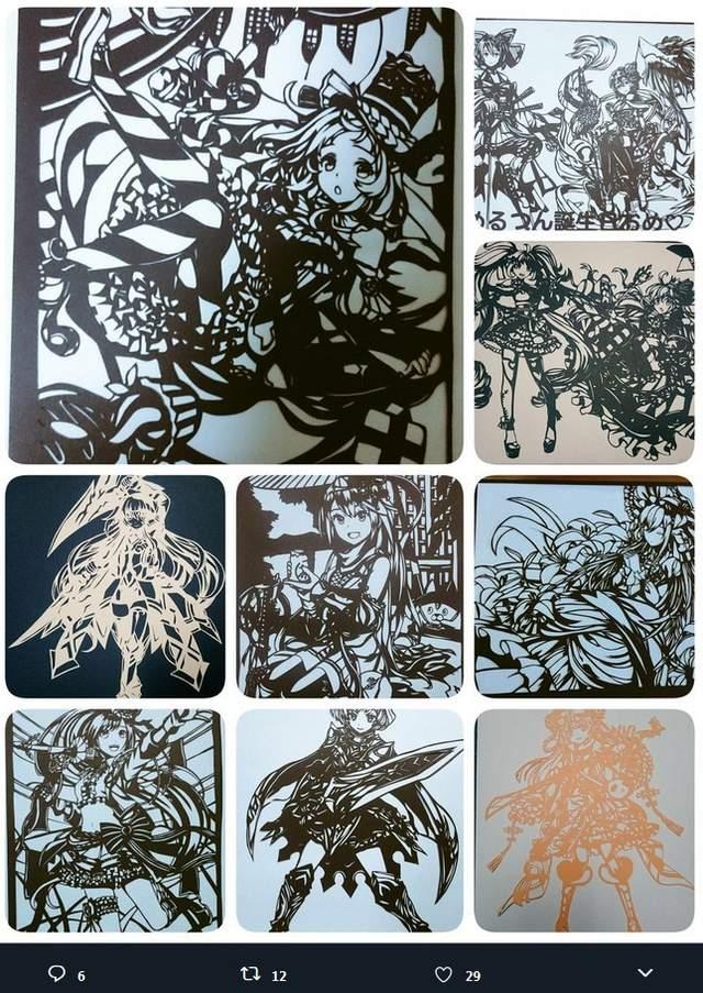 纸雕艺术作品栩栩如生 巧手制作不能闪神才能刻出好作品