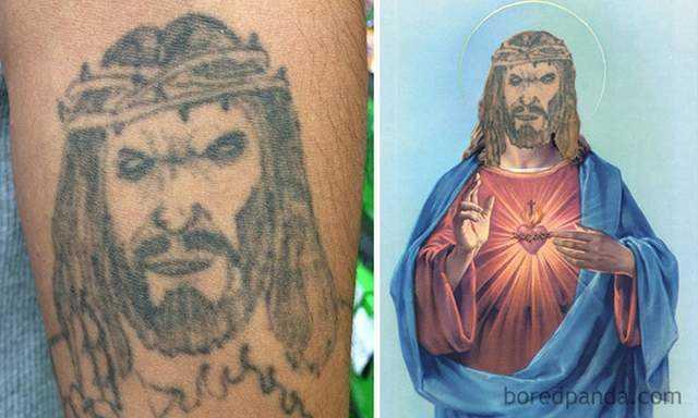 失败刺青图案实体化 卖萌耍笨的汪星人很野性