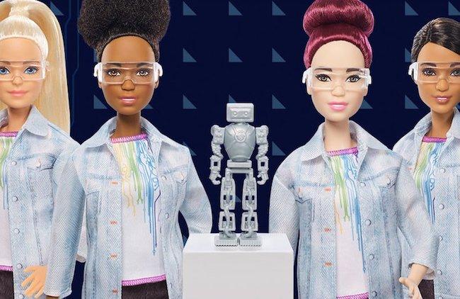 机器人工程师芭比娃娃 跟上STEM教育潮流