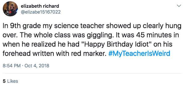 老师有趣的奇葩故事 翘课看球遇到请病假体育老师