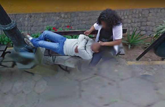 秘鲁小哥上Google街景地图找路 意外发现5年前妻子出轨照片