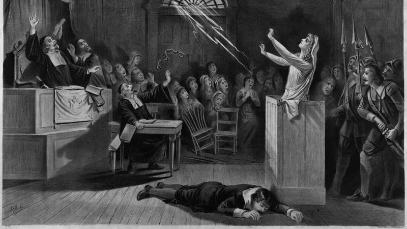 辨别女巫十种奇葩方法 塞勒姆审巫案就用这些方法