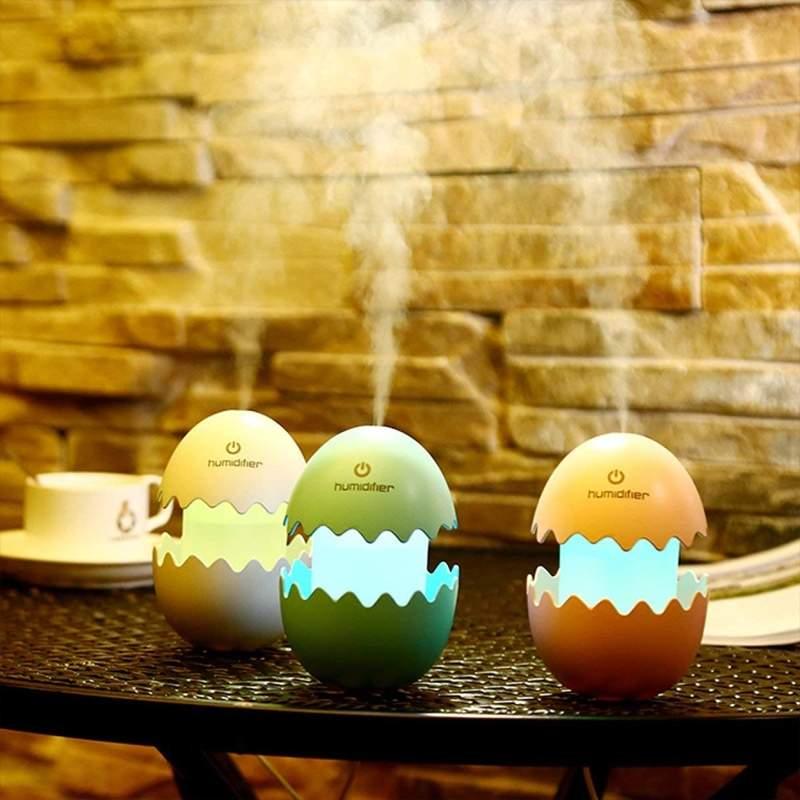 DIY蛋壳加湿器 自制加湿器简单适用效果好