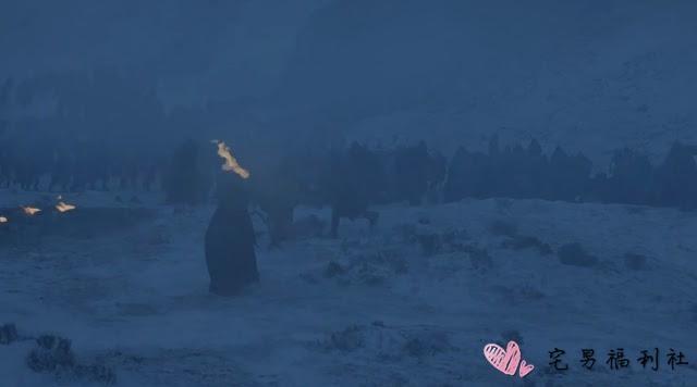 《冰与火之歌:权力游戏》第7季第6集,异鬼真的来啦!