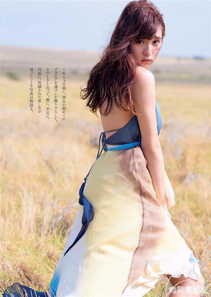 「千年一遇的童颜巨乳」浅川梨奈18岁纪念写真欣赏