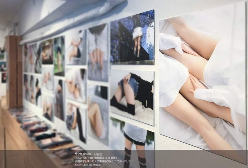 日本性感大腿写真展 白皙嫩腿满足美腿控