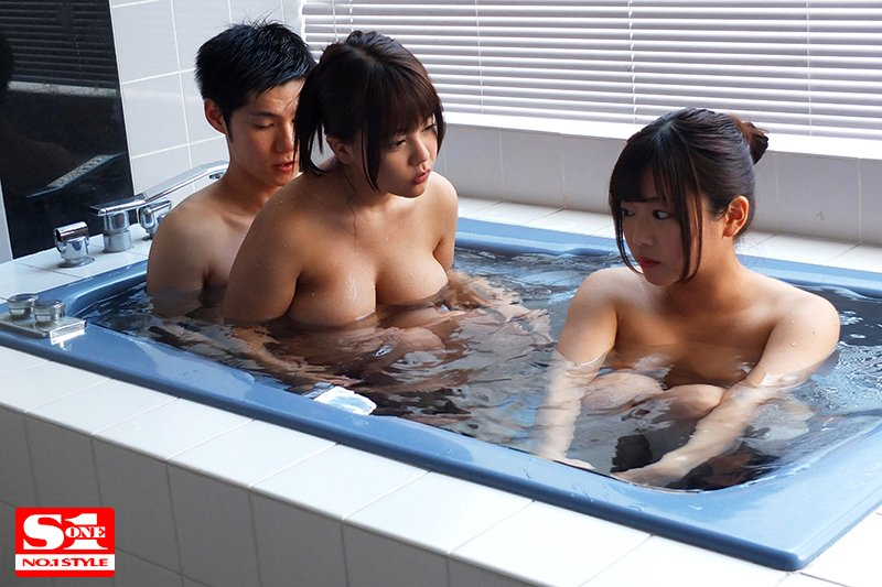 SSNI-558羽咲美晴与夕美紫苑共演 巨乳姐妹花与哥哥一起玩