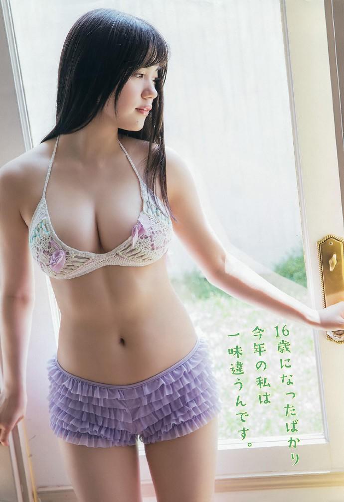 「HKT48」超强破坏力的秘密胸器 田中优香