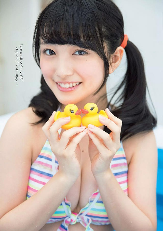 「AKB48」大岛优子钦点!次世代Center继承人 向井地美音