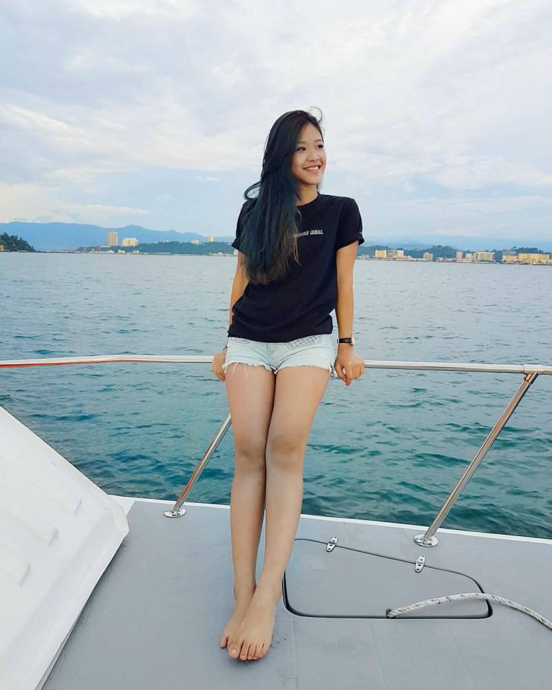 新加坡网红正妹李嫣儿 甜美笑容神似年轻时的钟丽缇