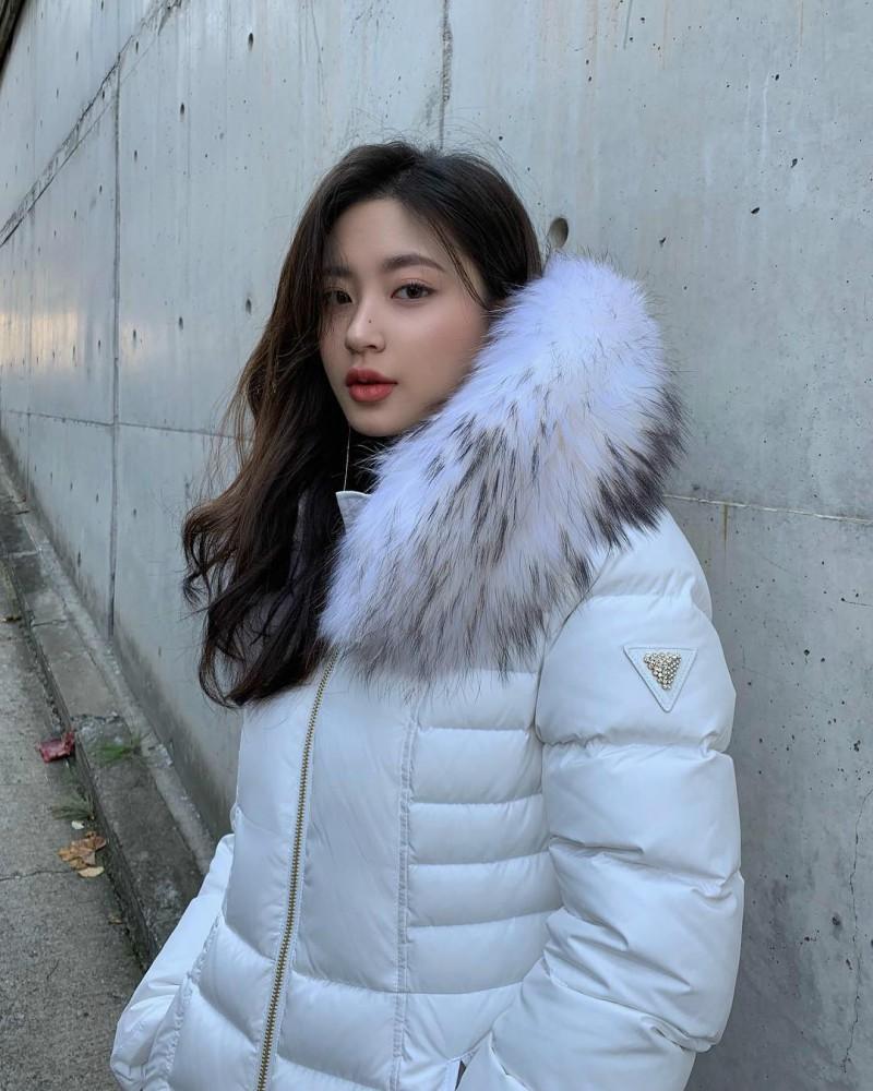 韩国高颜值模特正妹 精致女人迷人气质美到无法形容