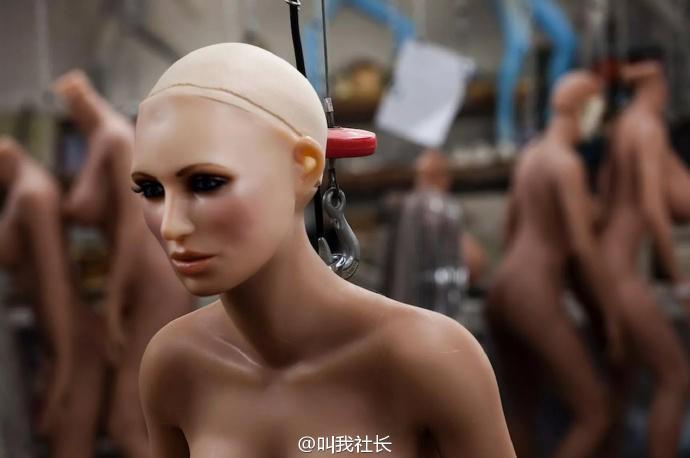 与真人无异!性爱机器人2017年或将出产