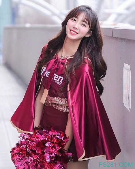 韩国球迷正妹 啦啦队美女甜美笑容令人暴动