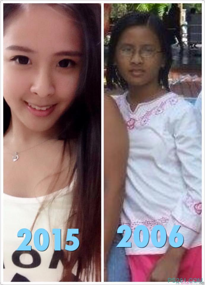 正妹Ivy Yap分享12年前旧照 小黑妹蜕变白天鹅震惊网友