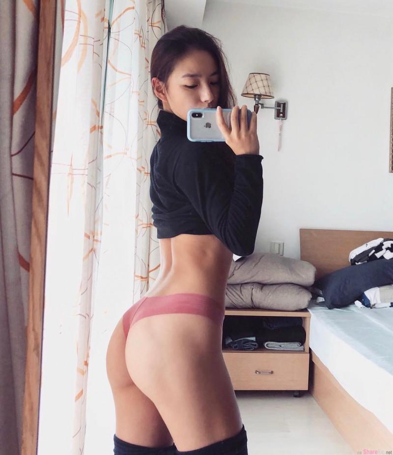 """健身正妹陈暖央性感翘臀诱惑 健身网红教练原来是""""暴走萝莉""""创始人"""