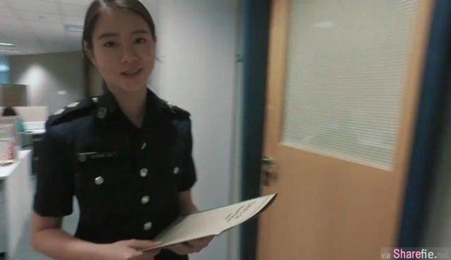 亚洲六大最美警花PK 网友好想被正妹警花逮捕