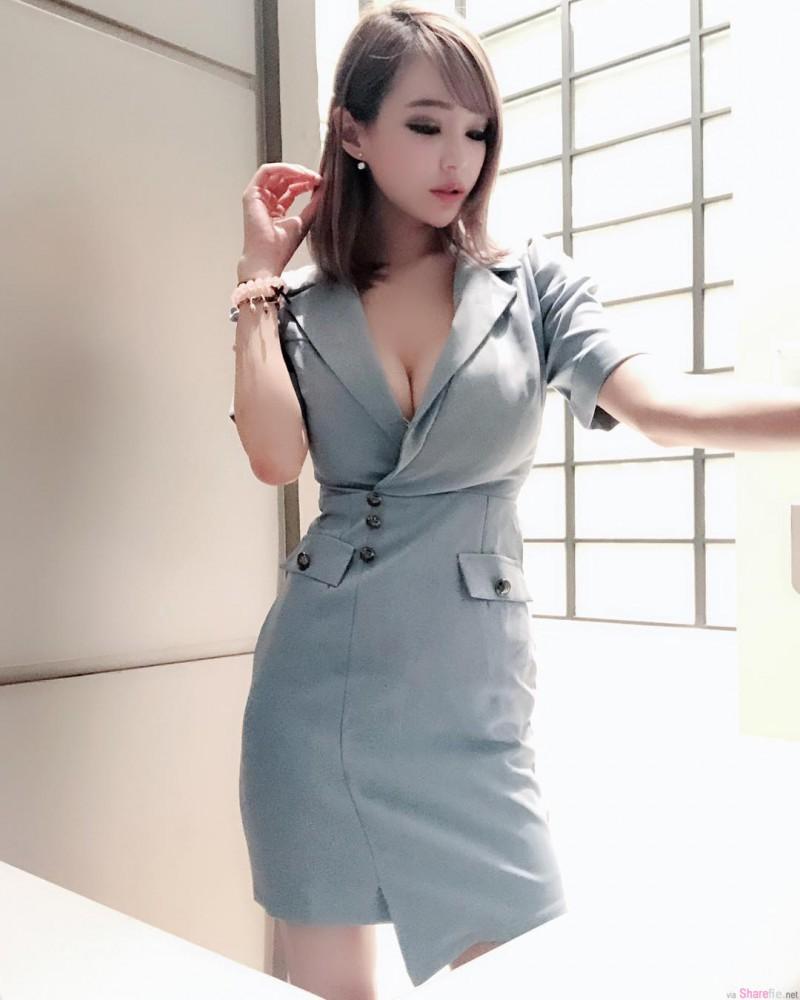 台湾正妹元欣性感撩人 巨乳波霸呼之欲出