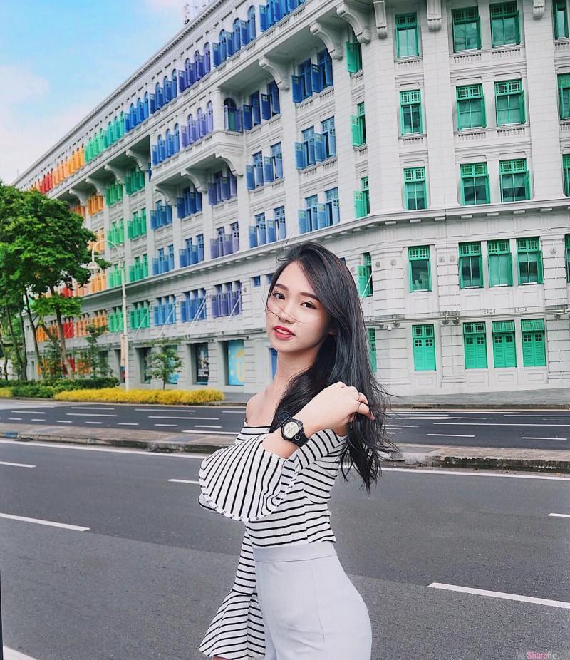 清纯甜美正妹Liane 青春美少女太清纯