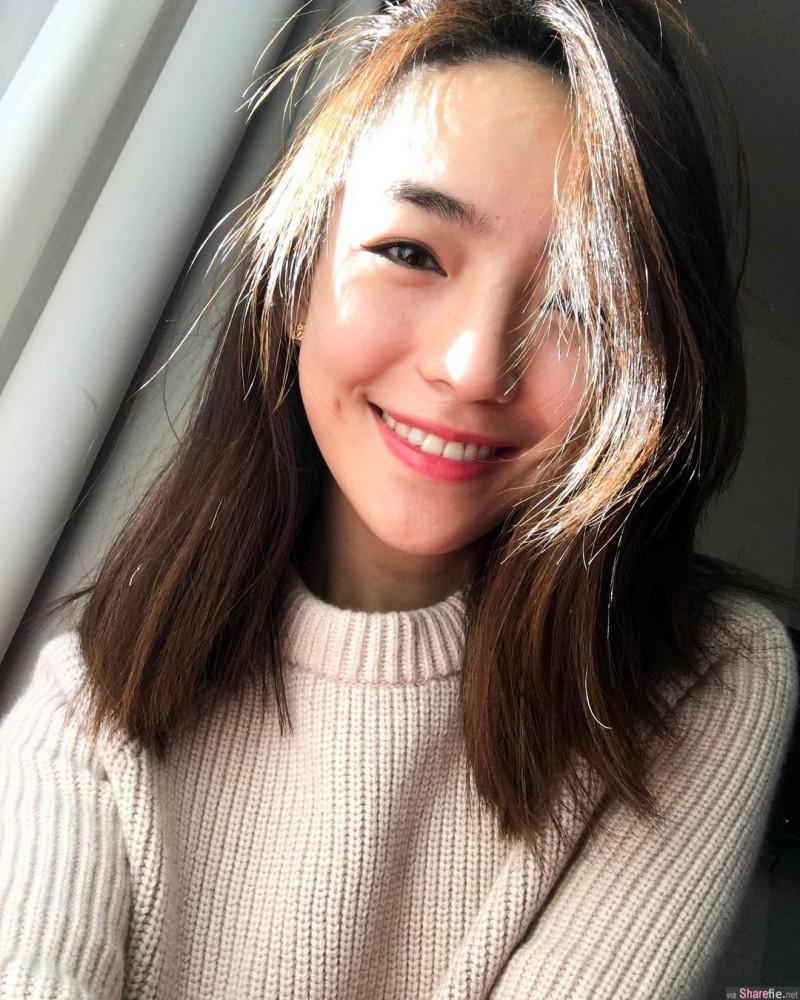 高学历正妹高艺 高颜值学霸甜美笑容迷人