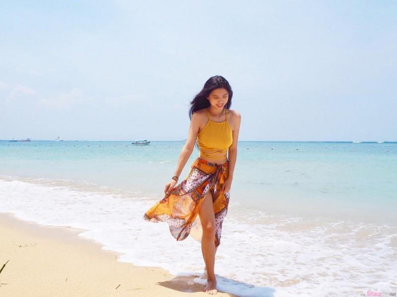 大长腿正妹Cheryl Leong 长发美女散发诱人气质