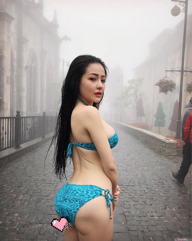 越南巨乳网红正妹 乳量惊人令人无法直视