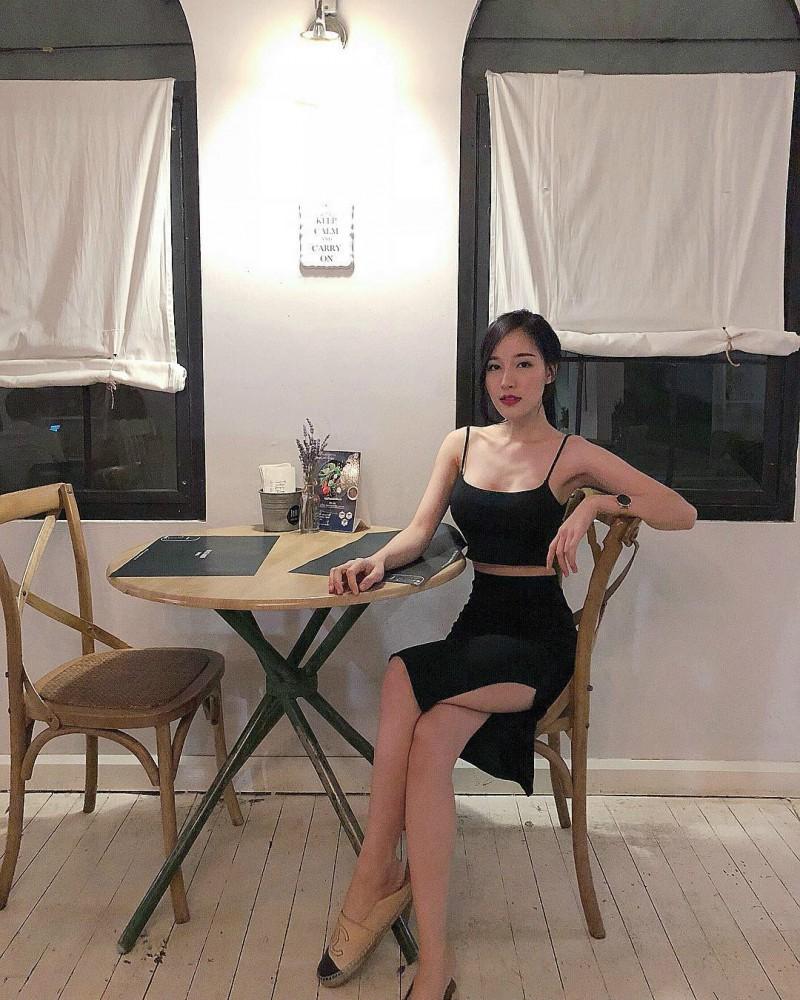 泰国正妹叫Arys Nam-in 瓜子脸美女正妹身材火辣
