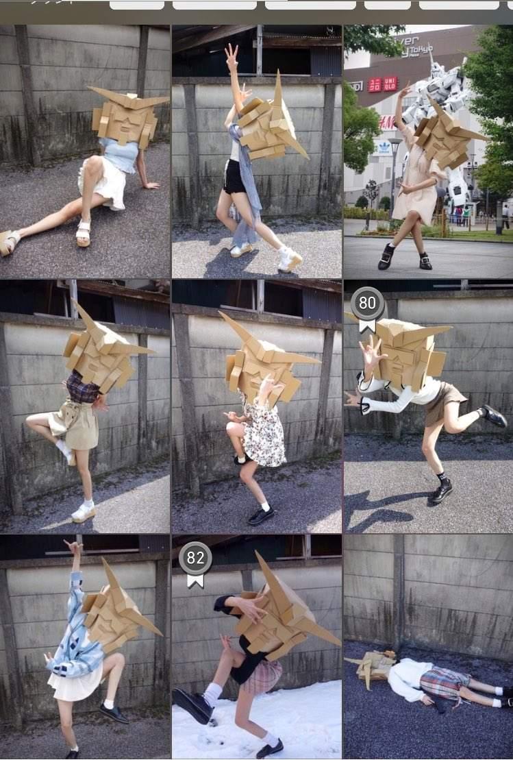 日本正妹加藤有纱 另类穿衣搭配受热棒