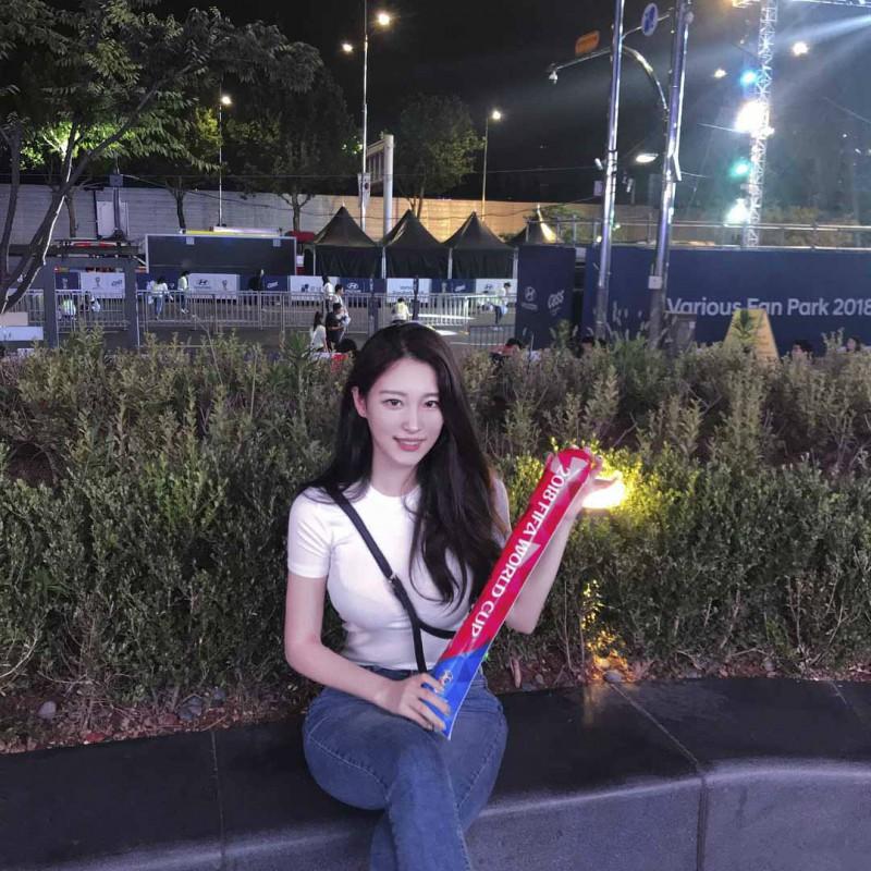 韩国性感正妹g_bless_u 女神般颜值魅力无限
