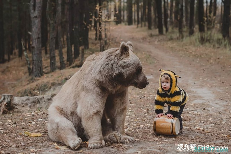 真实版!超唯美写真《美女与野兽》宛如进入奇幻童话世界中!