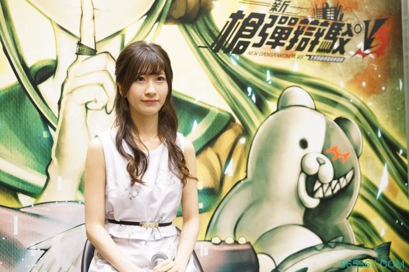 【动漫节】前AKB石田晴香甜样靓声变身《枪弹辩驳》配音员