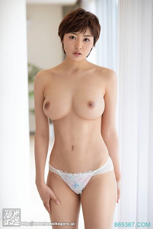 预约8月最强发片机器!艺术的美Body!超短髮帅气美人!三岳ゆうな一出道就被干翻天!