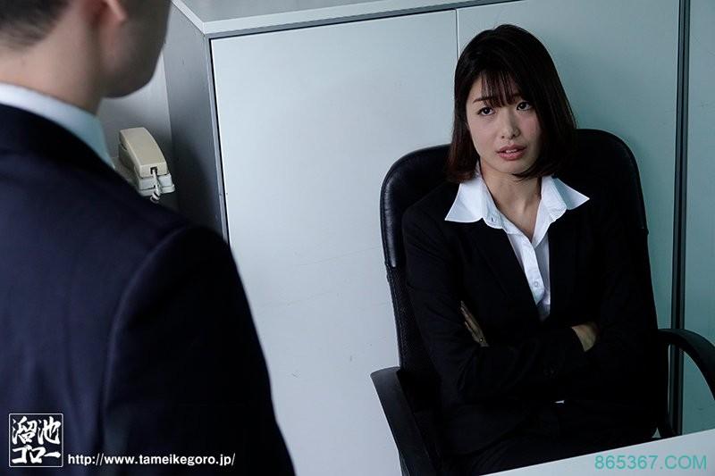 睁睁看到自己肉棒被女上司川上奈奈美吹到超硬!