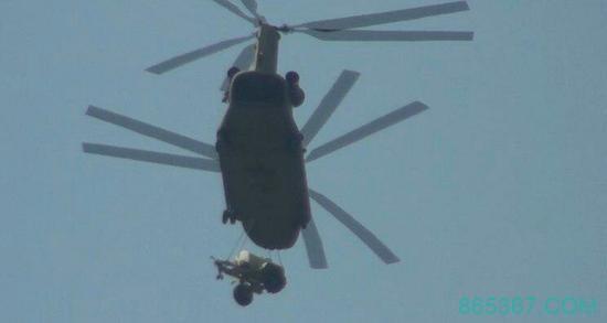 陆运萨德行不通 韩国调来8架直升机