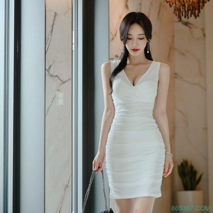 韩国正妹孙允珠 神级美女主播细腰长腿