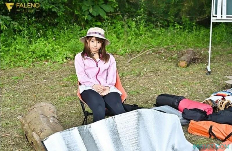 河南实里FSDSS-118 森林公园野餐露营被同事拥护