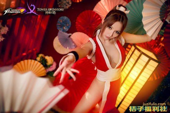 台湾女神林虹伶 Cosplay 日本动漫不知火舞