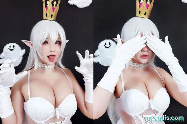 cosplay 写真福利超胸美女 Hana Bunny 超级性感火辣 coser