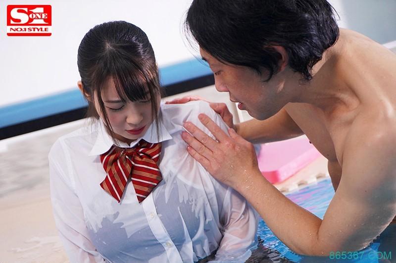 "SSNI-758 :巨乳美少女""梦乃あいか""穿著死库水被变态狂侵犯!"